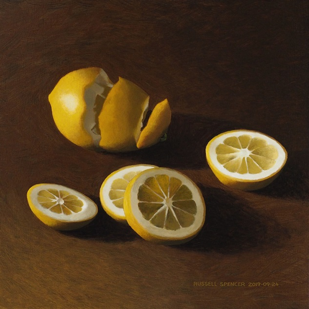 Two Lemons by artist Russell Spencer