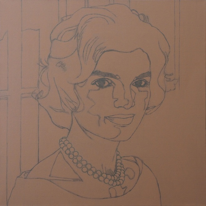 Progress Picture 1/7 for Jackie Kennedy, 1959